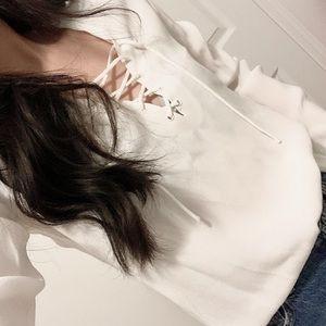 Aritzia Long Sleeve Blouse (XXS)